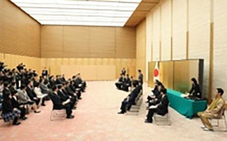 「第1回ジャパンSDGsアワード」授賞式(首相官邸)