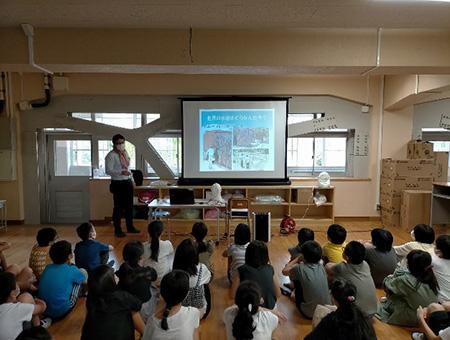 市内小学校での出前講座