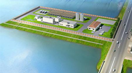 下水処理場の完成イメージ