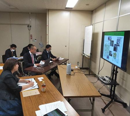 北九州市から下水処理技術を発信 (2020年11月)