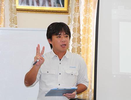 カンボジア派遣