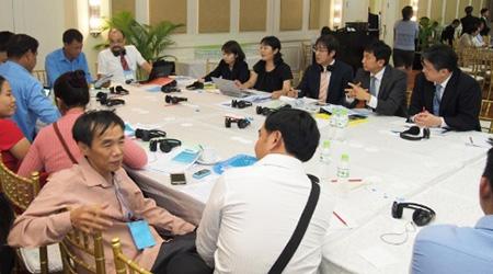 ワークショップによるグループ討議(2018年実施)