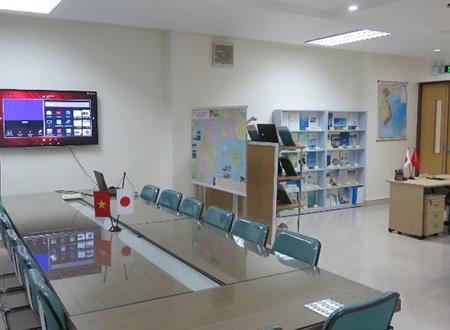 ハイフォン事務所内部
